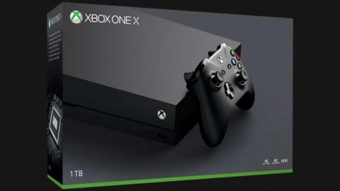 La Xbox One X Édition Standard disponible en précommande