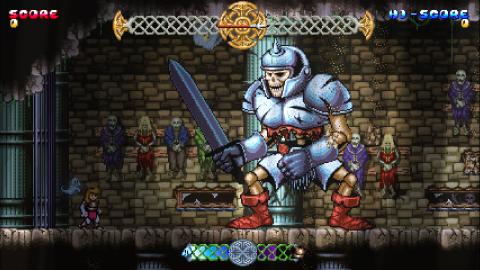 Jaquette de Battle Princess Madelyn : c'est au tour de la princesse de sauver le royaume