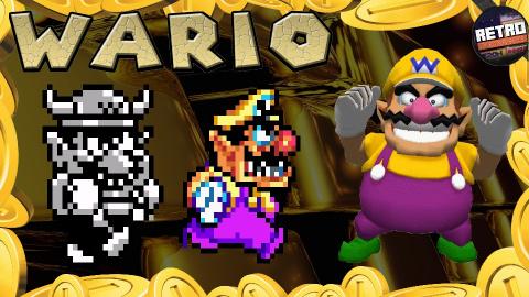 Retro Découverte - L'histoire de Wario