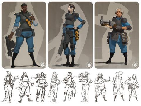 Team Fortress 2 : Valve aurait planché sur des personnages féminins