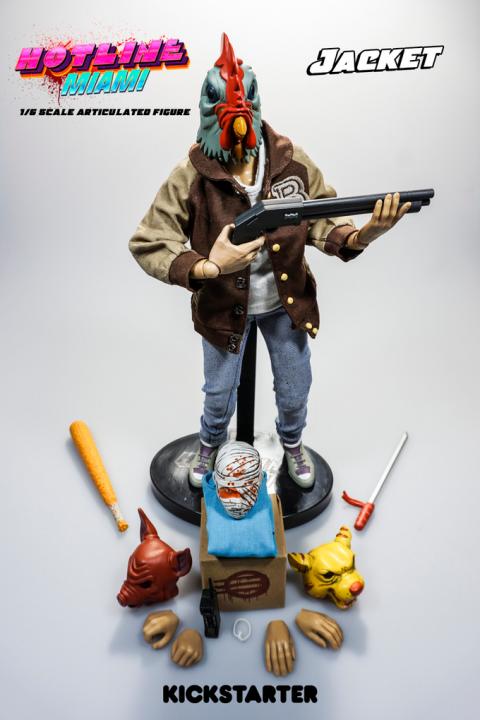 Hotline Miami : Un kickstarter pour une figurine de collection