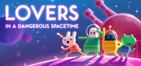 Lovers in a Dangerous Spacetime sur Switch