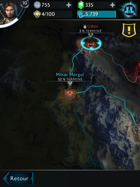 La Terre du Milieu : L'Ombre de la Guerre - Une version mobile sans panache