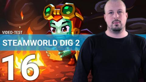 Jaquette de SteamWorld Dig 2 : Explorer ce monde souterrain en 3 minutes