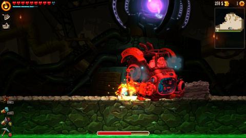 SteamWorld Dig 2 est disponible sur Xbox One