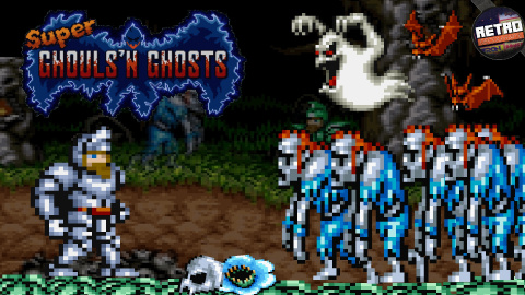 Retro Découverte - Super Ghouls'n and Ghosts
