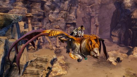 Guild Wars 2 revient sur la monture griffon secrète de Path of Fire