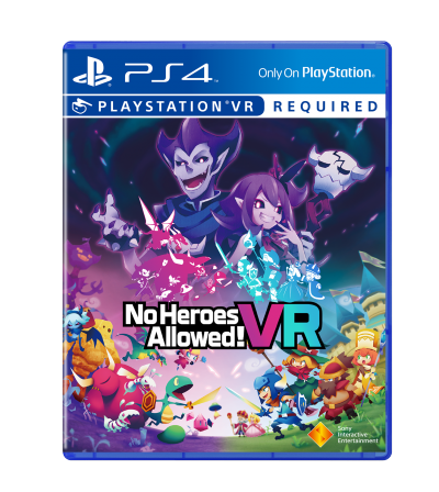 No Heroes Allowed ! VR sur PS4