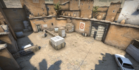 CS:GO : la map Dust II se paie un look cartoon