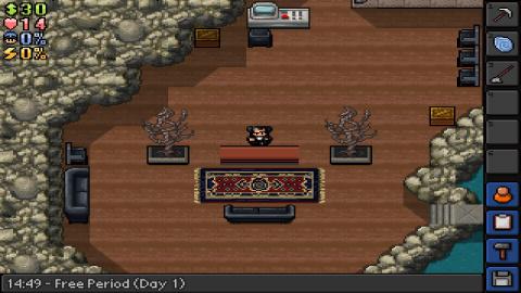 The Escapists : La version mobile accueille une nouvelle prison
