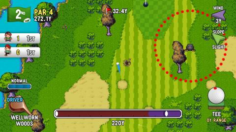 Golf Story : La petite perle qui mélange jeu d'aventure et swing maîtrisé