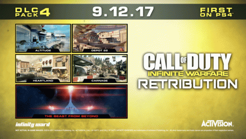 Call of Duty : Infinite Warfare - Retribution sur PC