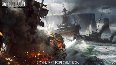 Battlefield 1 : L'extension Turning Tides se détaille