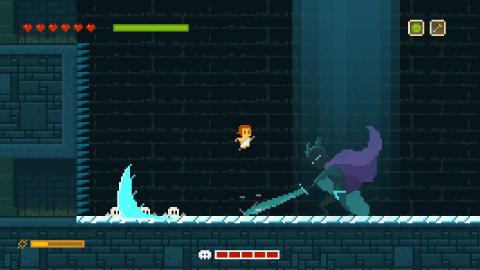 Jaquette de ELLiot Quest : L'aventure 8 bits est de retour sur Switch