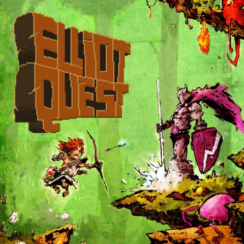 Elliot Quest sur 3DS