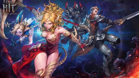 HIT : Heroes of Incredible Tales sur iOS