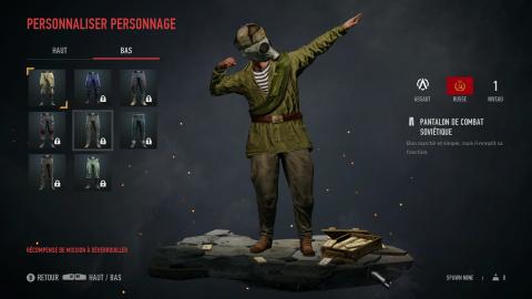 RAID : World War 2, Danke la baïonnette