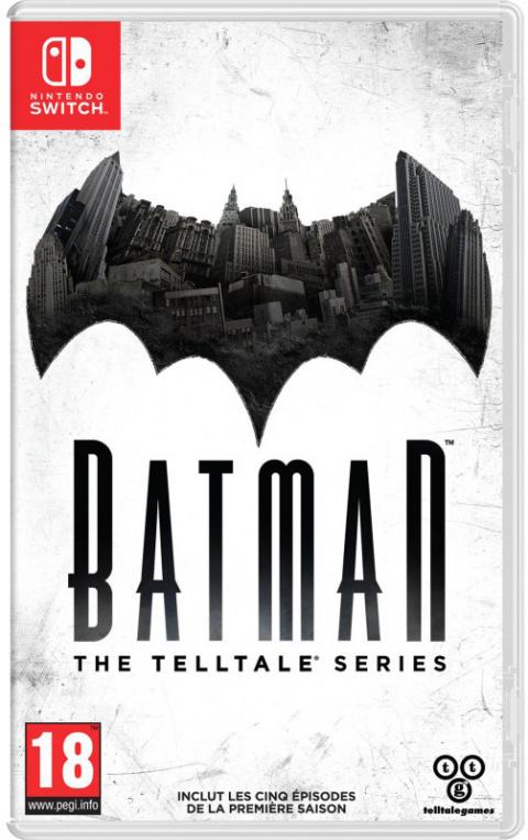 Batman : The Telltale Series débarque sur Switch