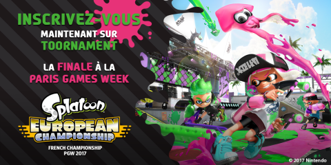 Splatoon European Championship : Dernière qualification online le 25 octobre !