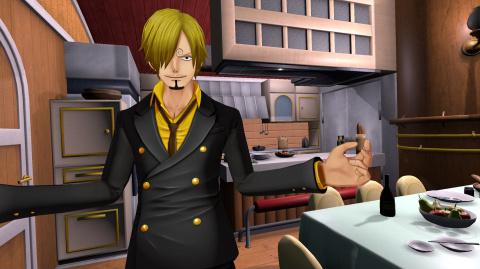 One Piece : Grand Cruise fait le tour de l'équipage en quelques screenshots