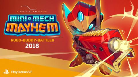 Mini-Mech Mayhem sur PS4