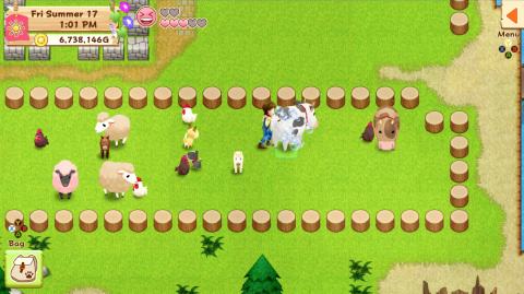 Harvest Moon : Light of Hope est disponible sur iOS