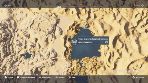Cercles de pierres - Oasis du Désert Blanc