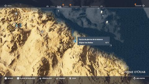 Cercles de pierres - Nome d'Ouab