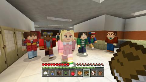 Minecraft : Une mise à jour pour les versions Switch et Wii U