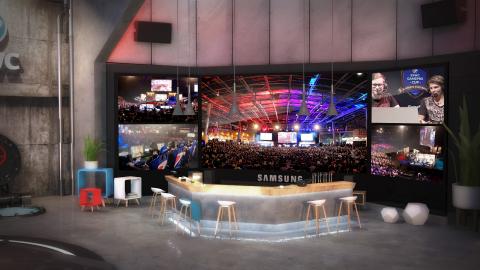 PGW 2017 : Samsung lance une application en VR pour l'eSport