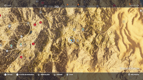 Énigme de papyrus - Montagnes Vertes