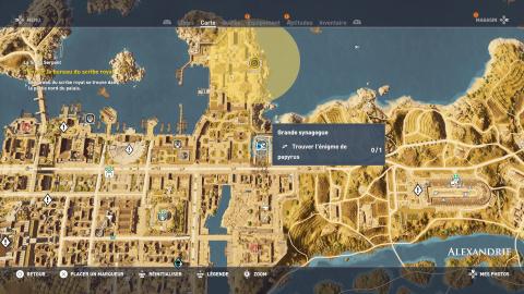 Énigme de papyrus - Alexandrie