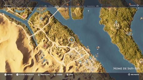 Énigme de papyrus - Nome de Kanopos