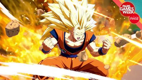 Jaquette de Paris Games Week 2017 : 20 minutes de gameplay de Dragon Ball FighterZ