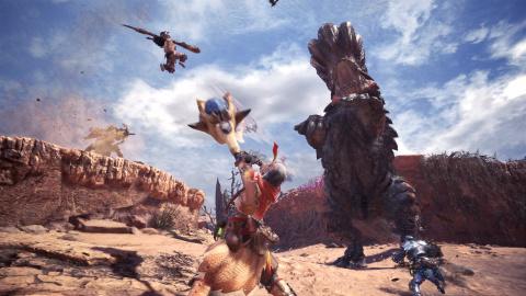 Monster Hunter World : la version d'essai disponible du 25 au 30 mars sur PS4