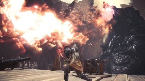Monster Hunter World : Le Behemoth arrive ce mois-ci sur PC