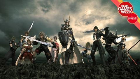 Jaquette de Paris Games Week 2017 : 30 minutes de gameplay de Dissidia Final Fantasy NT