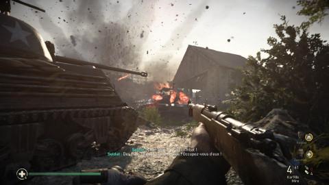 Call of Duty : WW2 : Un retour aux sources brut et rafraichissant