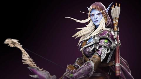 Blizzard ajoute une statuette de Sylvanas à son store