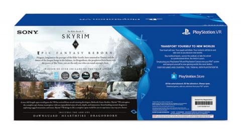 Un bundle avec le PlayStation VR aux Etats-Unis — Skyrim VR