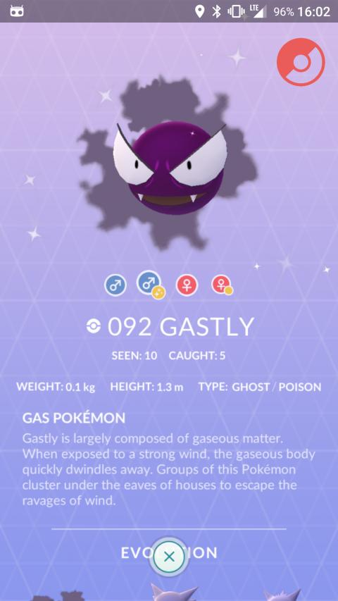 Pokémon GO : Fantominus, Spectrum et Ectoplasma Shiny bientôt dispos