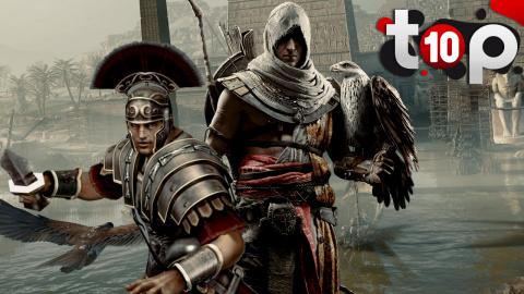 Top 10 des meilleurs jeux sur l'Antiquité
