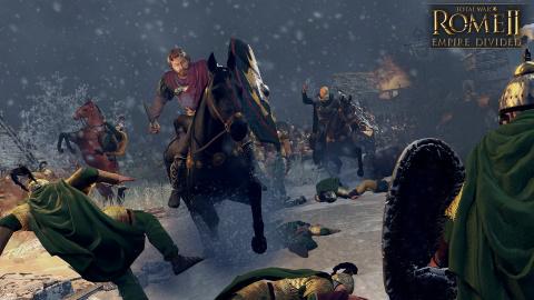 "Total War Rome II : l'extension ""Empire Divided"" annoncée"