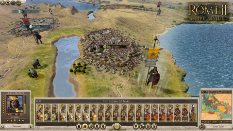 "Total War Rome II : l'extension ""Empire Divided"" annoncée"