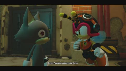 Sonic Forces : Et si vous tentez de lui échapper ?