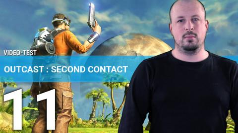 Jaquette de Outcast : Second Contact - Un voyage inter-dimensionnel en 3 minutes