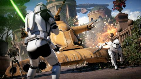 Xbox Live Gold : Star Wars Battlefront II, une galaxie en multi