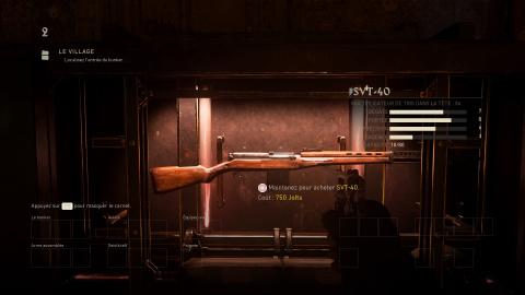 Liste des armes et leurs emplacements