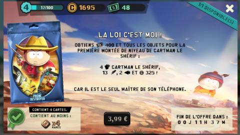 South Park : Phone Destroyer, une expérience gratuite plutôt complète