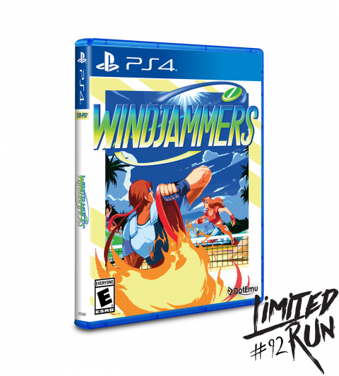 Windjammers : Des éditions physiques chez Limited Run Games